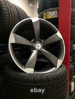 18 Roues En Alliage Audi A3 A4 A6 Tt Vw Golf Caddy Siège Leon Style Rotor Skoda