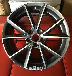 18 Rs4c S Style De Ligne Jantes En Alliage Convient Audi A3 A4 A6