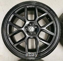 18 Vw Golf Gti Edition 35 Glen Watkins Style Alloy Wheels 5x112 Mk5 6 7 Caddy R