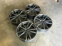 18 Vw Golf R Pretoria Alliage De Style Wheels Gloss Gun Metal Golf Mk5 Mk6 Mk7 Mk7.5
