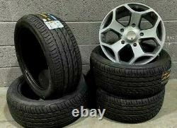 18gloss Gris St Style Ford Transit/custom/tourneo Alloy Wheels 5000kg Van Tyres