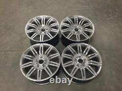 19 535 Spyder Style Alloy Wheels Hyper Silver Spider Bmw Série 5 E60 E61