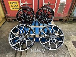 19 669m G20 Style Alliage Roues Gloss Black Pol Bmw G30 G31 5 Series New