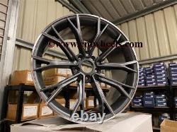 19 669m G30 Performance Style Jantes En Alliage Gun Metal Bmw F10 F11 F12 F13