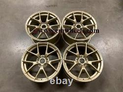 19 763m M3 M4 Cs Style Alliage Roues Satin Gold Bmw F20 F21 F22 F23 1 2 Series