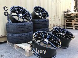 19 763m M4 Cs Style Alloy Wheels & Tyres Bmw F30 F30 F32 E90 F10 3 4 5 Series