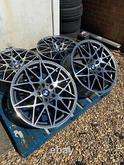 19 Bmw 666m Competition Style Alloy Wheels Seulement Pour S'adapter Bmw Série 4 F32 F33 F36