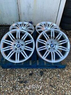 19 Bmw Spider Style Hyper Silver Alloy Wheels Seulement Pour S'adapter Bmw Série 5 E60 E61