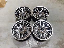 19 Csl Style Alliage Roues Hyper Noir Bmw Deep Concave E46 M3 E90 F10 E92 Z4m