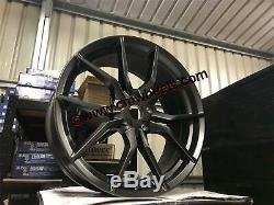 19 Ford Focus Rs Mk3 Style Jantes En Alliage Gun Metal Convient Mise Au Point 5x108 63,4
