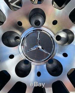 19 Mercedes Amg Turbine En Alliage De Style Roues Et Pneus Pour Adapter Mercedes Classe C W205