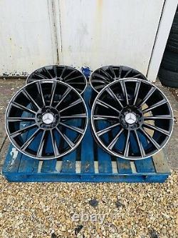 19 Mercedes Amg Turbine Style Alloy Wheels Only B+p Edge Mercedes Classe E W212