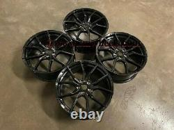 19 Nouvelles Ford Focus Rs Mk3 Style Alloy Wheels Gloss Black Focus St Rs 5x108 63.4