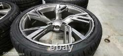19 Pneus Alloy Wheels+tyres De Style Rs6 2020 S'adapte À Audi A5 (x4) Ex-display