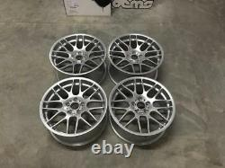 19 Roues En Alliage De Style Csl Hyper Silver Bmw Deep Concave E46 M3 E90 F10 E92 Z4m