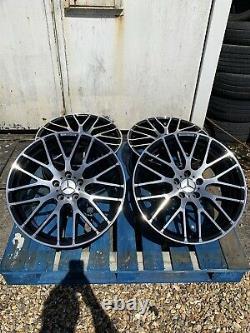 19 Roues En Alliage De Style Mercedes A45 Amg Noir/diamant Coupé Mercedes Classe A W176