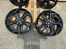 19 Vw Golf Gti Tcr Style Gloss Black Alliage Roues Golf Caddy Leon Brand New
