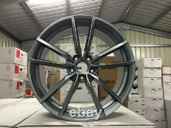 19 X4 Golf R Pretoria Alliage De Style Wheels Gloss Gun Metal Volkswagen Mk5 Mk6 Mk7