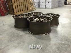 19 X4 Nouveau M3 Csl Style Alliage Roues Satin Bronze Bmw 5x120 E46 E90 Z4 E92