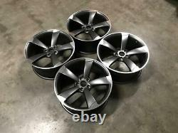 19 X4 Ttrs Rotor Deep Concave Style Alliage Roues Satin Gun Metal Audi A5 A7 S7