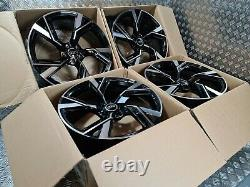 2020 Audi Rs6 Performance Style 20 Alloy Wheels Rotor Twist Fits A4 A5 A6 A7 A8