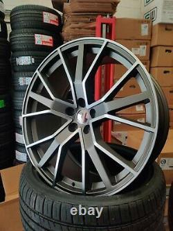 20 Audi A4 A5 A6 A7 A8 Q2 Q3 Q5 Rs6 Gm Style Alliage Roues 2553520 Pneumatiques