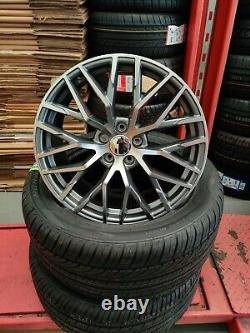 20 Audi A5 A6 A7 A8 Q3 Q5 Alliage Roues 5x112 R8 Alliages De Style Passat CC Arteon