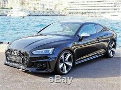 20 Audi Rs5 De Style Jantes En Alliage 5x112 A5 S5 Rs3 Rs4 Rs7 Sline Black Edition