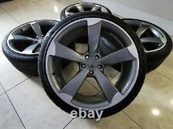 20 Bras Du Rotor En Alliage De Style Roues 5x112 Rs5 Rs4 A5 S5 Rs3 Rs6 T4 Transporter S4