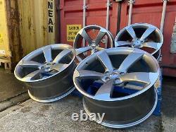 20 Jantes En Alliage Massive Concave Ttrs Rotor Style Alloy Wheels Audi Q5 Sq5 A5 A6