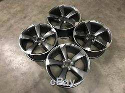 20 Ttrs Rotor En Alliage De Style Roues Deep Concave Satin Gun Metal Audi A5 A7 S5 Rs5