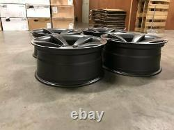 20 Ttrs Rotor Style Alliage Roues Deep Concave Satin Gun Metal Audi A5 A7 S5 Rs5