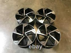 20 X4 New Audi Rs5 Style Alliage Roues Gloss Black Machined Audi Q3 Rs Q3 R Line