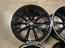 21 2020 Abt Style Alloy Wheels Concave Gloss Black Machined Audi A5 A6 A7 Q5 Q7