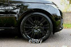 22 Pouces 9 Split Spoke 9007 Range Rover Velar New Alliage Roues & Pneumatiques