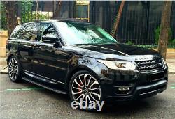 22 Pouces Turbine 7007 Style Land Rover & Range Rover Sport Alliage Roues Seulement