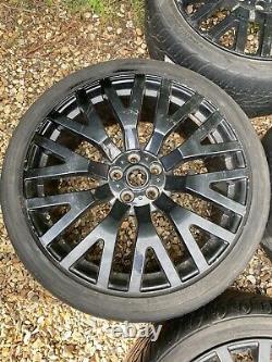 22 Range Rover Khan Style Alliage De Roues Alliages Avec Pneus 5x120 Stormer