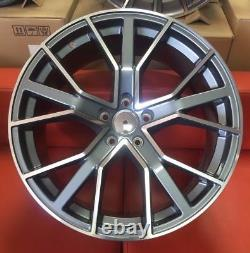 22 Rs6 Performance Plus Style Alloy Wheels To Fit Audi Q7 Cayenne Vw Touareg