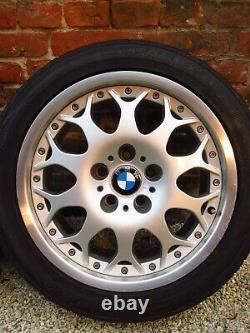 4x Authentique Bbs Bmw Série 5 E39 Rims Alloy Wheels Style 80 6756231 17 Pouces