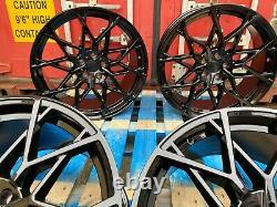 795m Style Alliage Roues Gloss Noir Convient Bmw 3 Série 4 Série 5 Série X3 X4 Z4