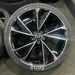 Affichage Ex 20 Audi S-line Rs7 Style Alliage Roues Et 255/35/20 Pneumatiques A5/a6/a7 +