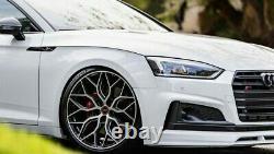 Audi A6 / A7 20''inch Vossen Hf-2 Style Alliage Roues Avec De Nouveaux Pneus Ensemble De 4