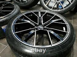 Audi Q7 / Sq7 / Q8 / Sq8 / Rs Vorsprung Style Nouveau Alliage Roues Et Pneumatiques