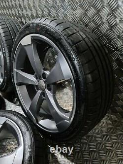 Audi S Line Rotor Rota Arm Style 18 Alliage Wheels + Pneus A3 A4 Golf Caddy 2020