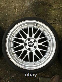 Bbs Style Mercedes / Audi / Porsche 19 Roues En Alliage. 9,5 Pneus Larges 235/35/19