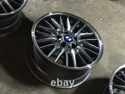 Bmw E36 E46 E90 E87 Mv1 18 Jantes 5x120 Style72 De Coupe De Diamant Lèvres