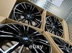 Bmw M5 F90 Série 5 706m Style 20 Alliage Roues M Sport G30 G31 Décalé