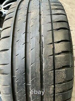 Bmw Série 3&4 F30 F3x 19 Style 442m Orbit Grey Alloy Wheels & Pneus Michelin