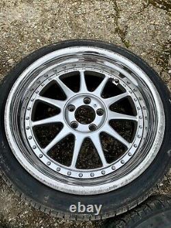 Élégant Styling Platinum Ford Focus St 5x108 18 9x18 Roues En Alliage Jaguar Volvo