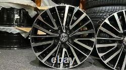 Ex Affiche 18 Vw T5 T6 T6 Alliage D'alliage De Style Palmerston 5x120 Et50 65.1cb